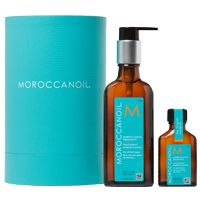 Moroccan oil Treatment (this oil - not the cream or mousse). Buy at Sierra'z Hair Salon next to post office.