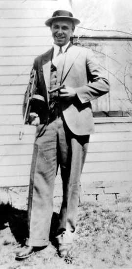 John Dillinger. A Real gangster, with class.