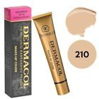 Dermacol High Cover Makeup Foundation Hypoallergenic Waterproof SPF-30 Don't Delay #waterproofmakeup #dermacolfoundation #dermacolcover