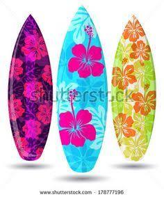 Las 25 mejores ideas sobre imagenes hawaianas en - Tablas de surf personalizadas ...