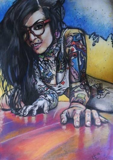 Inked Lady