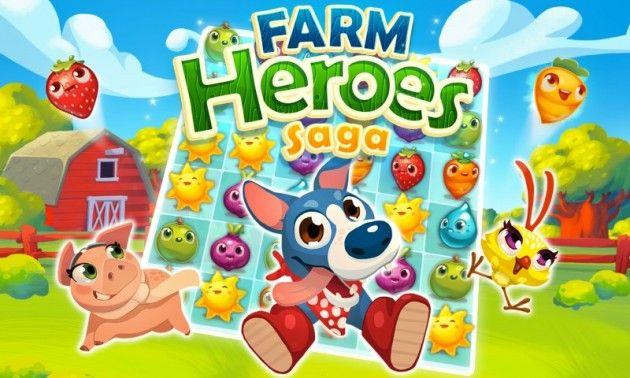#Technews Farm Heroes Saga, disponible para iOS y Android,