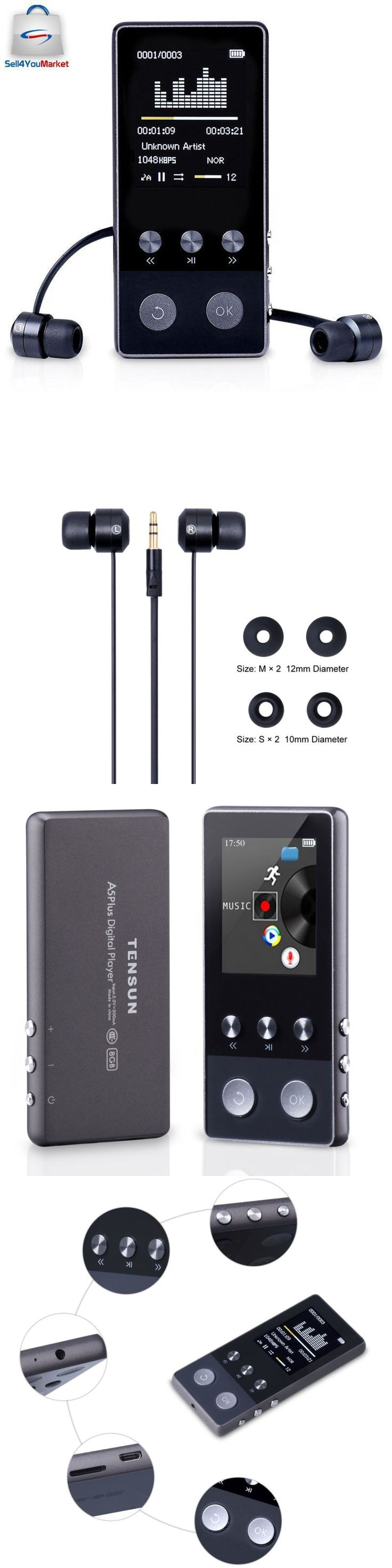 iPods and MP3 Players: Bluetooth 8Gb Mp3 Player Lossless Sound Screen Metal Mp4 Sport Black Up To 64 Gb -> BUY IT NOW ONLY: $37.11 on eBay!