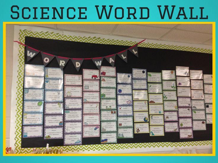 The 25+ best Science word walls ideas on Pinterest ...