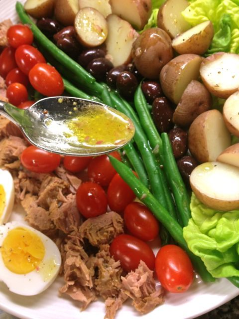 Nicoise Salad - Great Make Ahead Meal - Hearty and Nutritious