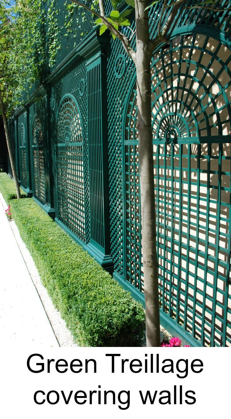 53 best outside fences cltures images on pinterest garden wood treillage covering the walls baanklon Gallery