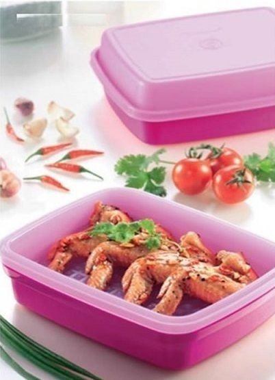 Great Value Promotion Tupperware Junior Season Serve (2) 1.2L in Pink