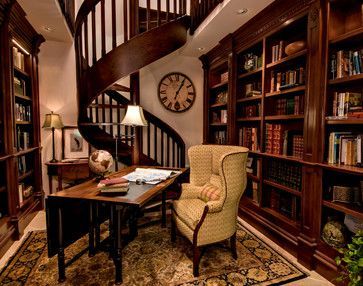 Traditional Home Office Photos Design, Pictures, Remodel, Decor and Ideas - page 5