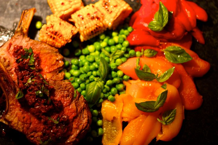 Meat and three veg.  Recipe on Facebook