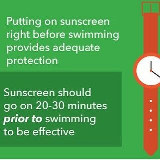 Downtown Campbell: FRIDAY FUN FACTS: Wear your sunscreen this weekend. And make sure you apply 30 minutes before swimming! by ritualdayspa