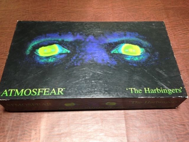 """Atmosfear"" board game from 1995, Mattel, used with funky VHS tape featuring ""The Gatekeeper"" character. US $19.99 Used in Toys & Hobbies, Games, Board & Traditional Games"