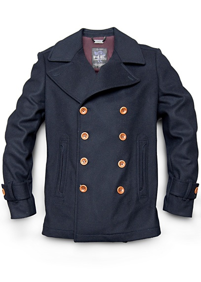 Double Breasted Jacket $99.99. H.E.