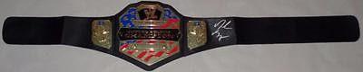 Daniel Bryan WWE UNITED STATES Championship Autographed Belt Memorabilia Lane