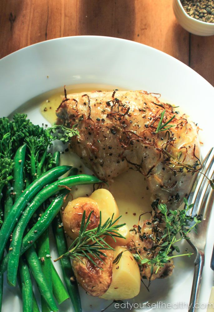 Lemon and Herb Chicken - Plated
