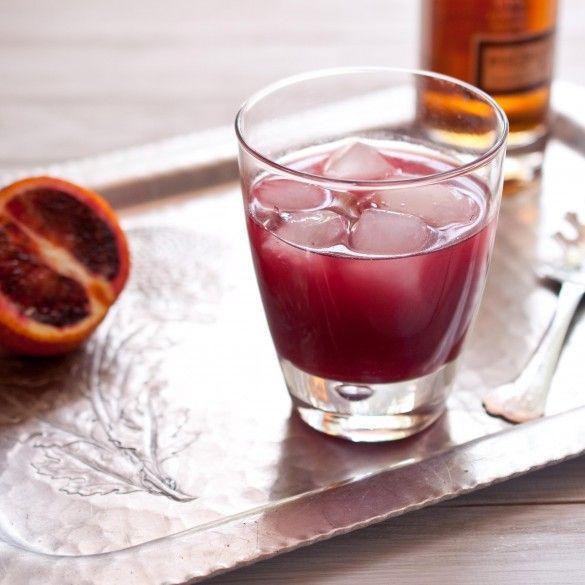 Blood Orange, Jalapenos and Whiskey