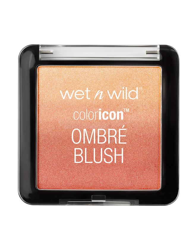 Mai Tai Buy You A Drink Color Icon Ombré Blush By Wet N Wild - Ride the shade wave to radiance! Blendable, lightweight powders in a soft gradient of ombre hues. Silky-smooth formula blends seamlessly for buildable color. Use as a blush or even as a shadow for a fun pop of color.