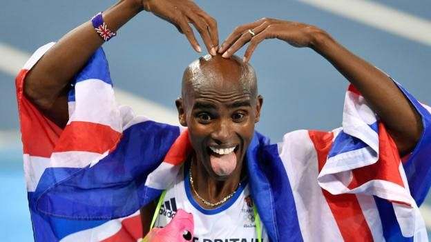 Not a fluke - Farah wins the double-double. 20th August 2016