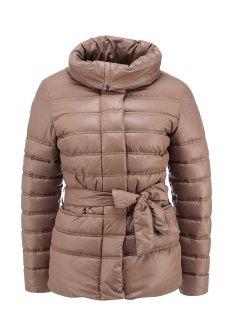 Куртка утепленная Grishko, цвет: бежевый. Артикул: GR371EWGQQ90. Женская одежда / Верхняя одежда / Пуховики и зимние куртки