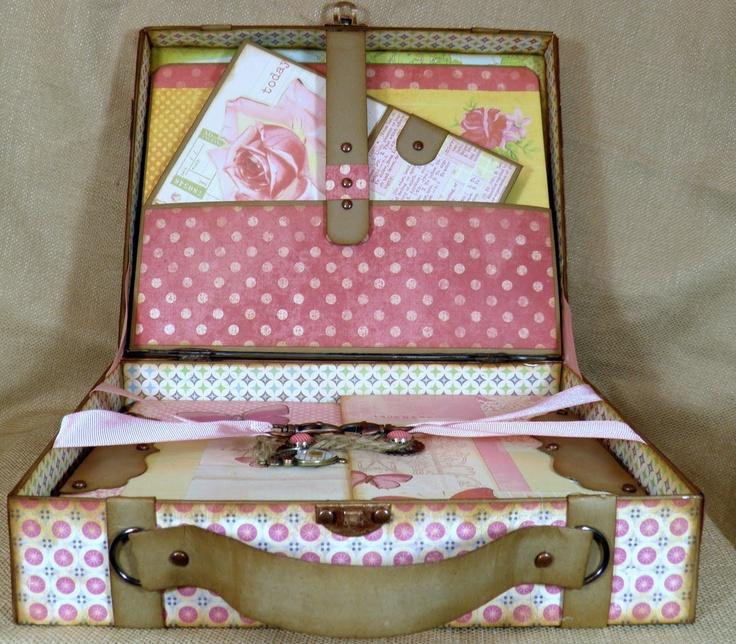 ScrappyLeggDesigns: Travel Tales Suitcase and Mini Album