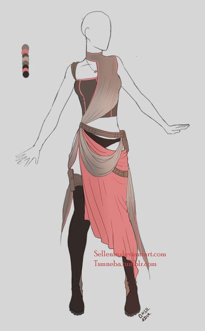 Outfit adopt -17 - Closed by Sellenin on DeviantArt