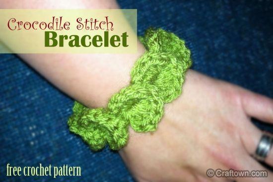 1000+ images about Bracelet on Pinterest Crochet ...