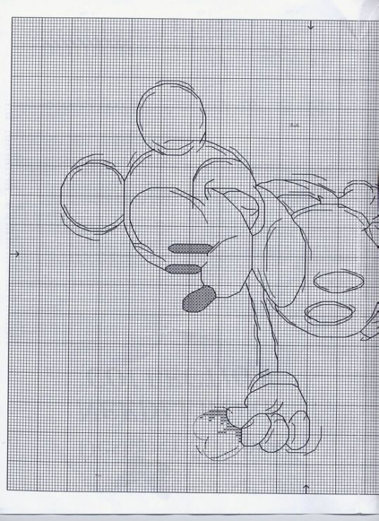 Sketch Mickey 1 of 2