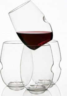 $39 set of 12 plastic, reusable  Govino Wine Glasses, Set of 12 - contemporary - glassware - govino