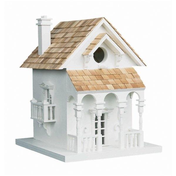 Home Bazaar HB 2017 Signature Series Honeymoon Cottage Bird House.  Decorative ...