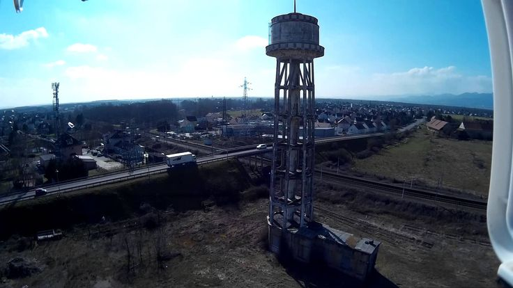 Découverte chateau d'eau et test d 'altitude
