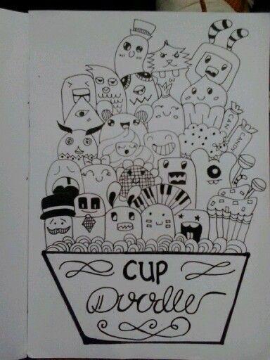 #CupDoodle #sedikitTypograpy #drawingpen #conectorpen #coratcoret