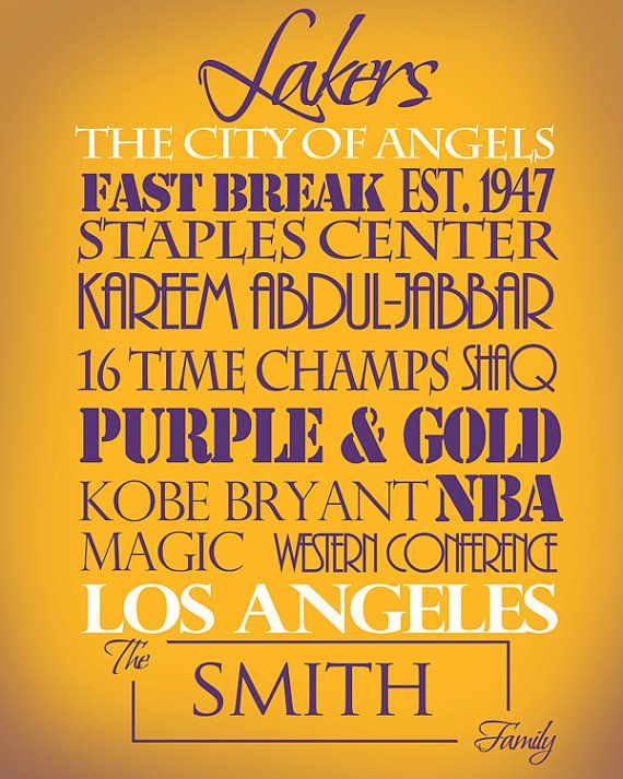 Los Angeles Lakers <3