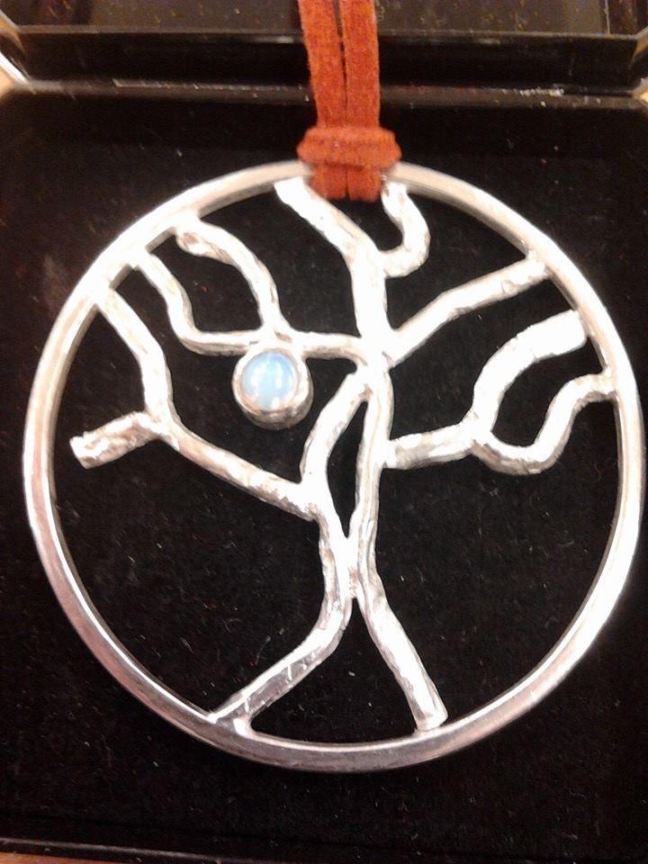 Levensboom met maansteen