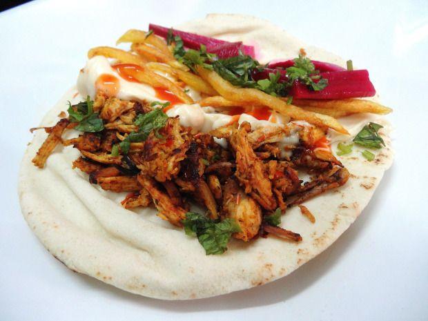 Chicken Shawarma #Homemade #Arabic #Chicken #Shawarma