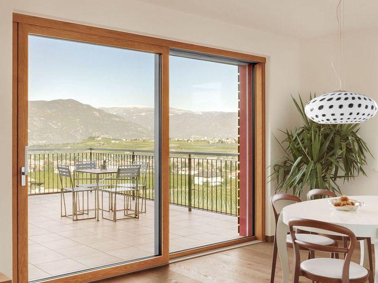 LIGNATEC Porta-finestra alzante scorrevole by FINSTRAL