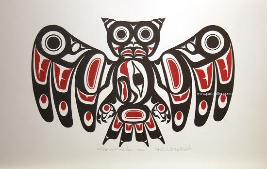 LaRochelle, Ron 'Pacific Owl' - Northwest Coast Native Art