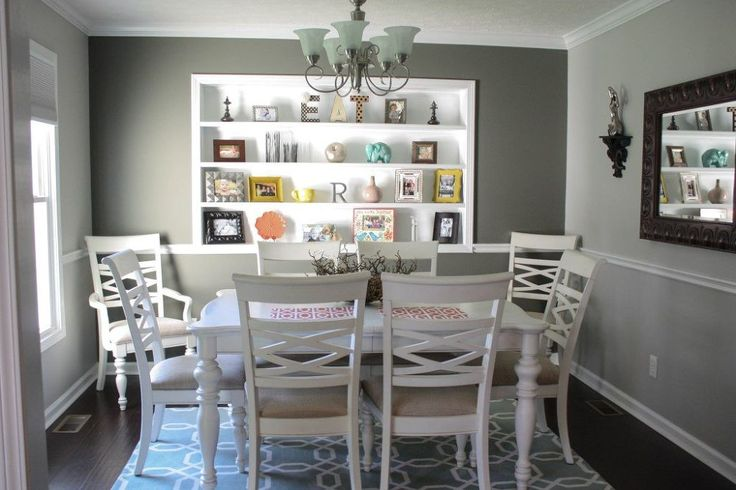 Our Re-Fabbed Dining Room! (AMAZING Transformation!) New Pictures!