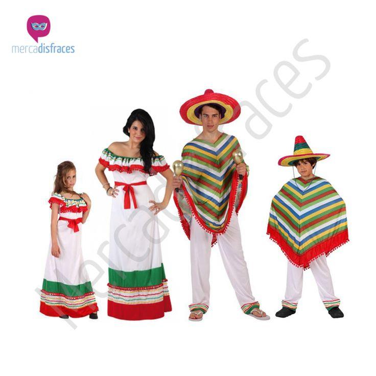 Envíos en 24h desde 2,99€ GRATIS a partir de 60€. Disfraces Grupo Mexicanos con Poncho. Tienda de disfraces online. Disfraces Originales. Disfraces baratos.