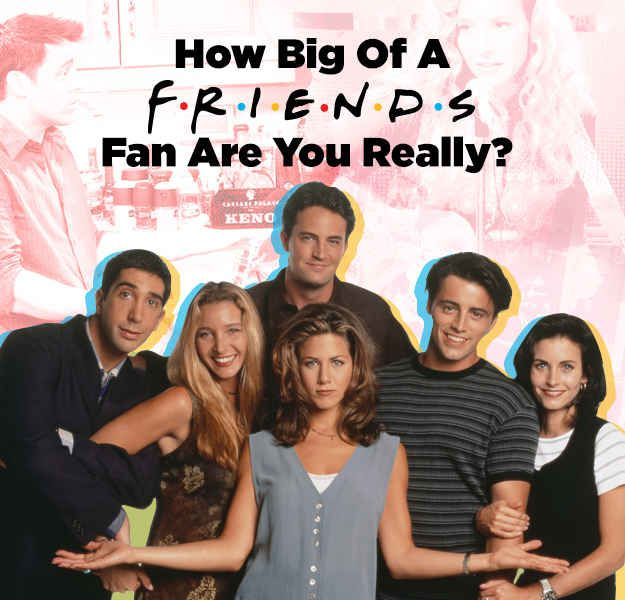 "How Big Of A ""Friends"" Fan Are You Really?  I ""You did perfect on this quiz, of course.  You scored Monica.""  lol"