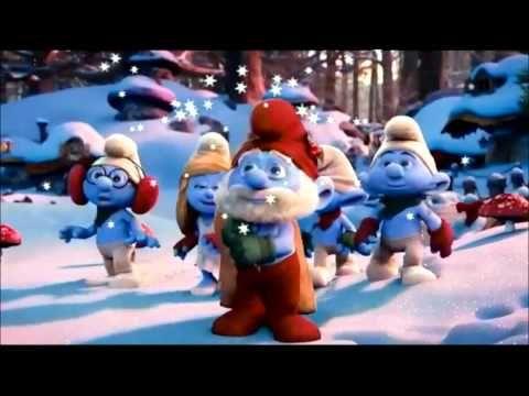 Canciones de Navidad, Los pitufos Hoy es un dia muy, Feliz Navidad, español, navideñas