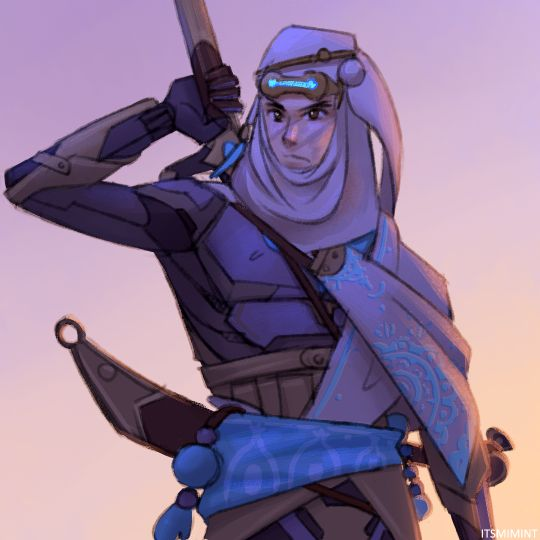 I really like his nomad skin gosh ;_