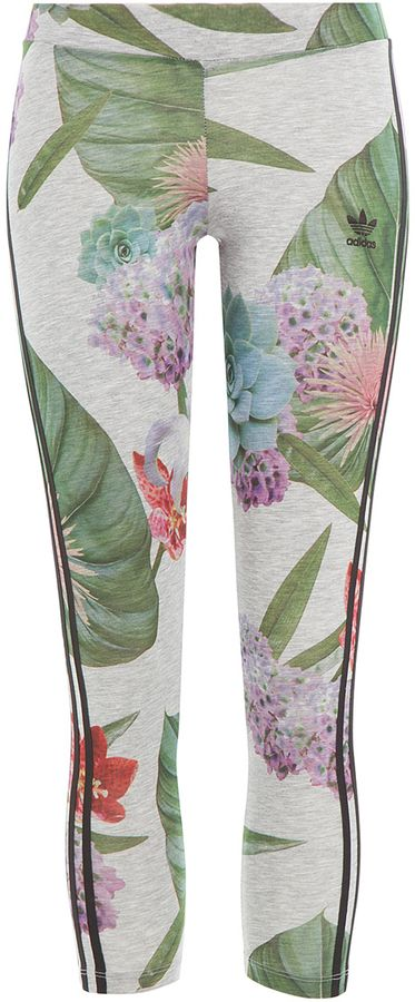 Adidas Originals Floral Print Leggings