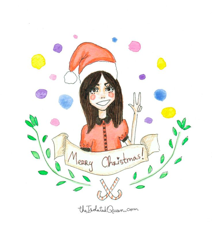 Merry Christmas 2013 wishes from The Isolated Queen http://theisolatedqueen.com
