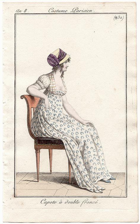 232 Costumes Parisien 1800