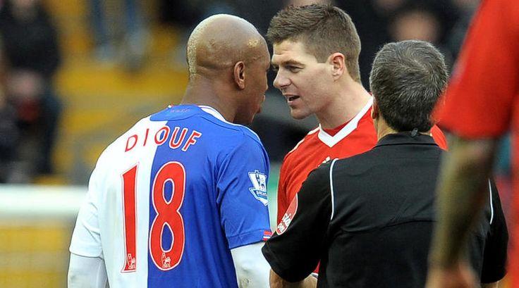 El Hadji Diouf blasts Gerrard again