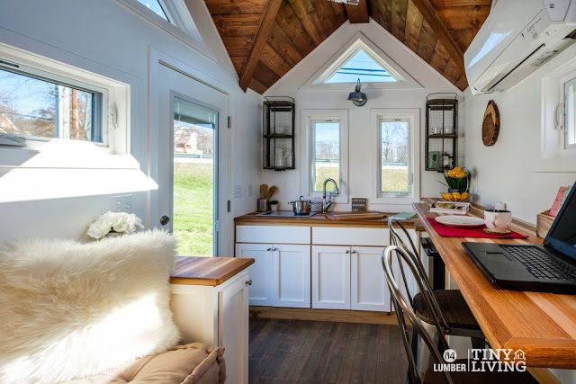 From 84 Lumber, the Countryside, is 203 sq ft and you can purchase the home turnkey ready for $79,884. There's also a semi-finished option for $31,884, or you can buy a trailer and plans for the home for $6,884.