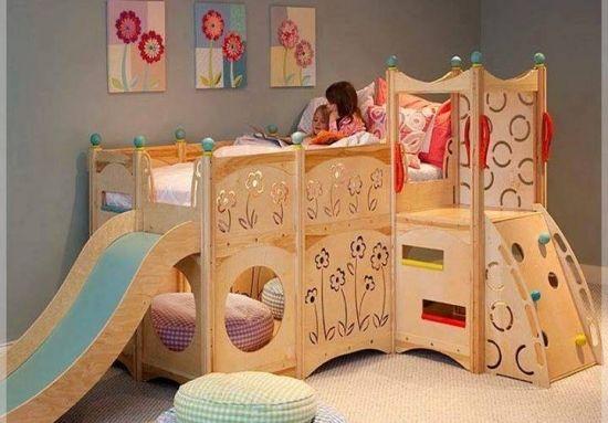 20 de idei de paturi etajate copii - transforma camera copilului tau intr-un basm