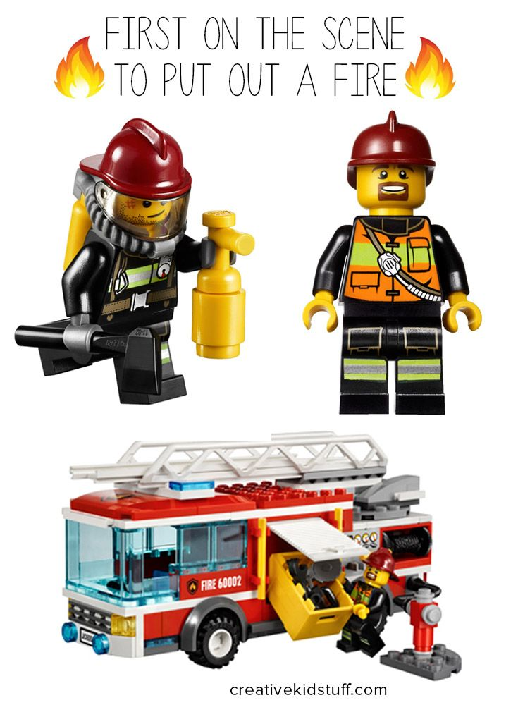 die besten 25 lego city fire truck ideen auf pinterest lego anleitung lego ideen und lego bauen. Black Bedroom Furniture Sets. Home Design Ideas