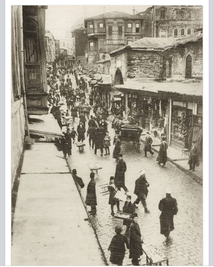 ✿ ❤ Bir Zamanlar İSTANBUL, Kürkçü Han-1915