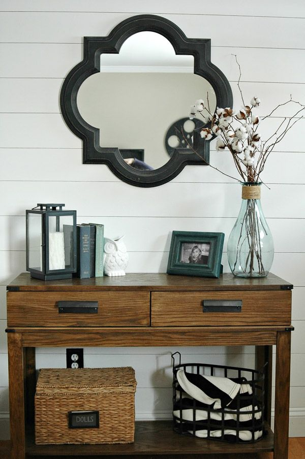 Foyer Console Update : Best ikea console table ideas on pinterest entryway