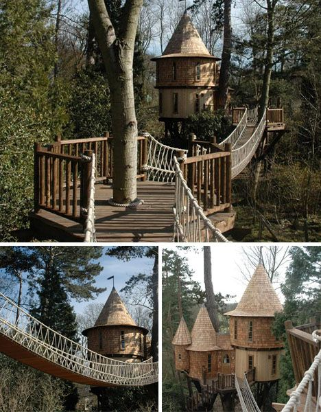 Blue Forest is one such company, but far from the only one. Their specialty seems to lie somewhere between playful little fantasy structures and big educational spaces for children engaged in wildlife observation, forest ecology and related nature-oriented pursuits.